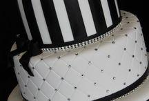 sort og hvit