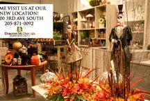 Halloween / Flowers and Merchandise