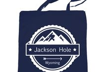 Jackson Hole Tote Bags