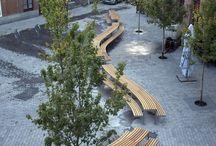 Public Seating Furniture - Bench