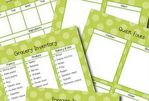 Family/home management binders