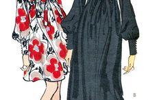 vestidos años 60s
