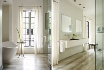 Baths! / Don't let your bathroom get neglected - keep it up to date with these fresh ideas.