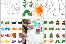 ERIC CARLE ACTIVITIES AND CRAFTS