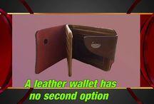 mens leather wallets Australia