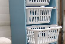 Laundry Area Organizing/ Ideas / by Kathy Riley