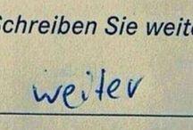 Schülerantworten ✍