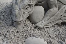 Castles in the Sand and other sand sculptures