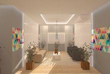 Projeto de Interiores - Ambientes Comerciais / Projetos realizados em parceria com Office Rios - Mobiliário para Escritório