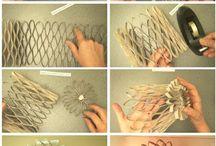 manualidades con tubos papel h