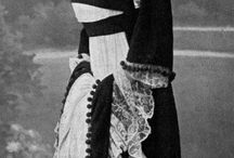 Модерн / платья прекрасной эпохи