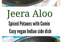 Vegan Indian recipes