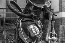 Steampunk / Steampunk masks and accessories by La Fucina dei Miracoli, original Venetian masks and accessories since 1975. www.maschere.it