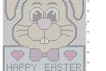 easter plastic canvas