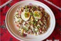 Saláty a pomazánky