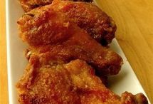 Yummy baked chicken wings