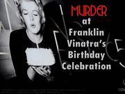 The Murder at Franklin Vinatra's Birthday Celebration - Murder Mystery Party / A nostalgic celebrity murder mystery party set in 1950's Hollywood for 12-14 adults. This is a great choice for a male birthday party.
