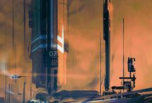 sci fi structures