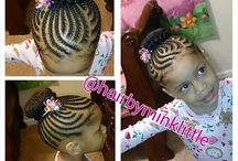 kiddies hairstyles / Hair
