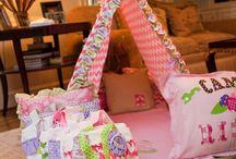 sleepover party ideas & gifts / Sleep overs