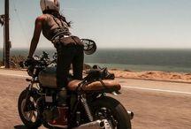 kobiety motocykle