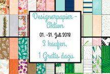 Designerpapier-Aktion 2018