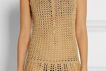 vestidos de crocher