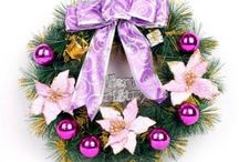 Merry Christmas / It's all about Christmas ,including Christmas gifts and decorations, such as Christmas tree, pearl card, Christmas wreath, Santa doll, Snowman doll, Milu deer doll, etc.