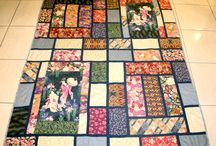 Japanese inspired quilts