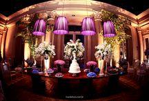 Decorações Casamentos / Fotos da equipe Ricardo Hara de decorações para casamentos