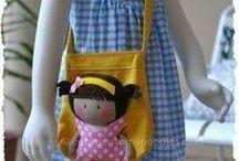 bonecas para costura