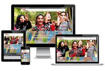 Website Designs / Website designs by Interactive World. Portfolio of our work on Pinterest