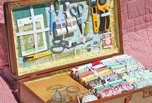 Craft suitcase