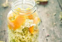 Elderflowers / Recipes using elderflowers