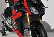 BMW S 1000 R 2014/2017 by Ermax Design / Accessories, nose screen, belly pan, license plate support
