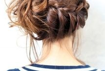 Bridal hair-do