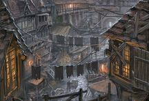 Awesome fantasy castles and cities
