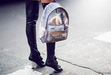 Trend: Chanel Graffiti Backpack / Chanel Spring 2014 RTW Backpack