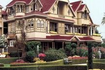 California - Winchester Mystery House, San Jose / Famous haunted mansion!