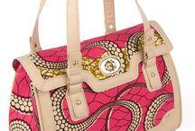 African print bags
