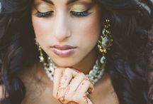 Indian Wedding Inspiration / Indian Wedding Inspiration Editorial Photoshoot Captured by Katie Slater Photography | Hair and Makeup by Dana Bartone and Company