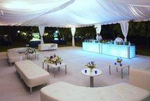 SurWell Wedding - Pool / Terrace Decor