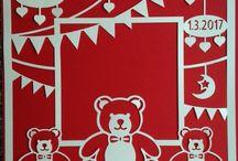Personalised Papercuts New baby Mum Dad Nursery Decor Keepsake Anniversary Wedding / Papercuts for all occasions