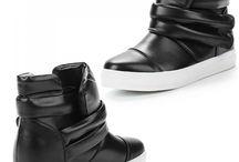 Mooie Zwarte Sneakers voor Dames