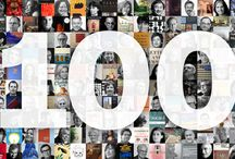 100 Designers choose 100 Books / To celebrate the publication of our 100th designer on Designers & Books—we now have double the number of designers we started with a year ago—we bring you a new milestone list.  We've paired each of our 100 architects, fashion designers, graphic designers, interior designers, landscape architects, product designers, and urban designers together with one book each, chosen from the book lists they've submitted.