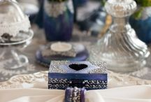 Navy Wedding Decor