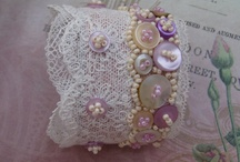 Cuff Bracelets / Pretty cuffs looks like bracelets. Love this idea. Mostly vintage, shabby chic and other beautiful styles.