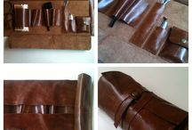 leather pipe bag