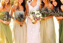 Bridesmaids' dresses / Inspiration