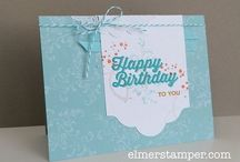 SAB 2016 - Perfect Pairings / Cards using the Perfect Pairings stamp set from Stampin' Up!'s Sale-a-bration catalogue 2016